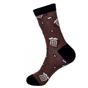 hippe sokken - beer - A20