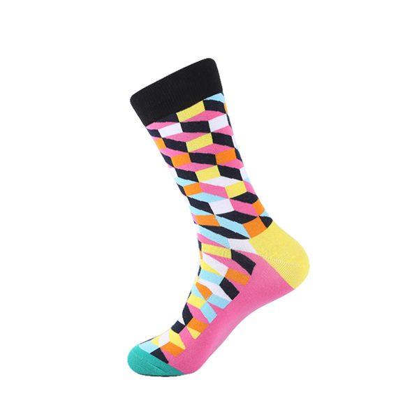 hippe sokken - colors purple B7