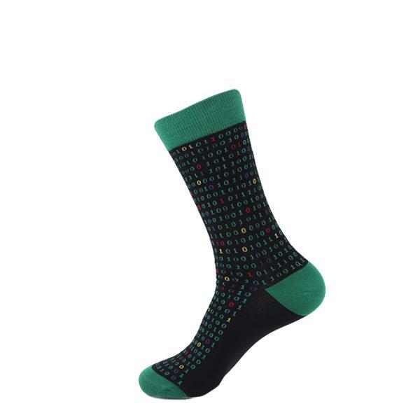 hippe sokken - computer code - B107