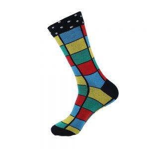 hippe sokken - squares colors - H74