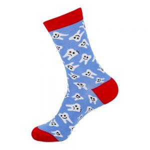 hippe sokken - tanden - A55