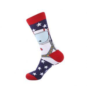 hippe sokken - usa space - B94