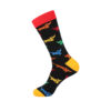 hippe sokken - colorful dogs - h46