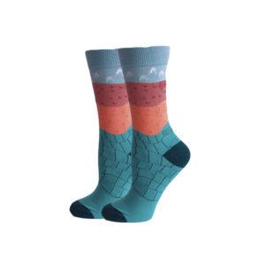 hippe sokken - earth - c129