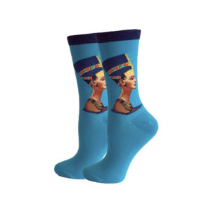 hippe sokken - nefertiti blue - c159