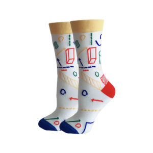 hippe sokken - school drawing - c130