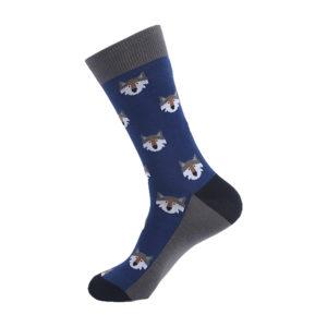 hippe sokken - wolf - h5